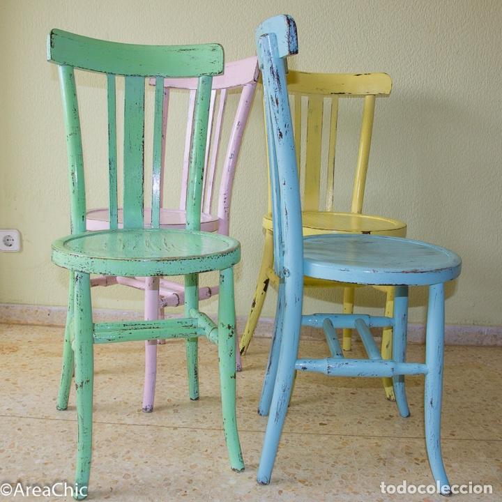 Sillas thonet antiguas vintage comprar muebles vintage for Sillas antiguas restauradas