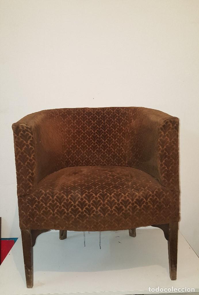 SILLON BUTACA (Vintage - Muebles)