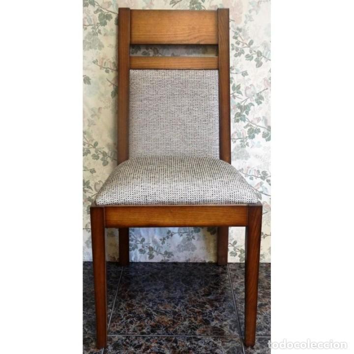 4 SILLAS UNIDADES SUELTAS DIVERSOS ESTILOS (Vintage - Muebles)