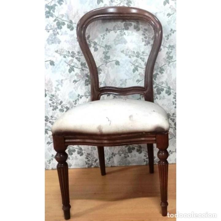 2 SILLA UNIDADES SUELTAS DIVERSOS ESTILOS (Vintage - Muebles)