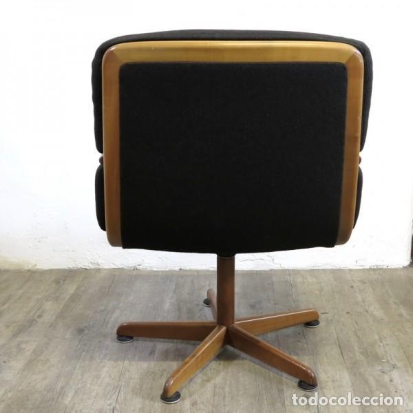 Vintage: Silla de oficina diseño de Walter Knoll. 1970 - 1980 - Foto 2 - 120825618
