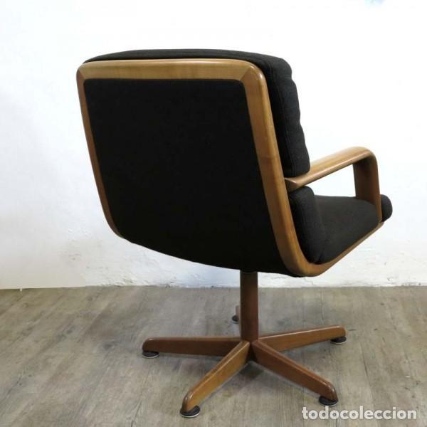 Vintage: Silla de oficina diseño de Walter Knoll. 1970 - 1980 - Foto 3 - 120825618