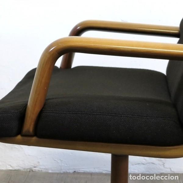 Vintage: Silla de oficina diseño de Walter Knoll. 1970 - 1980 - Foto 10 - 120825618