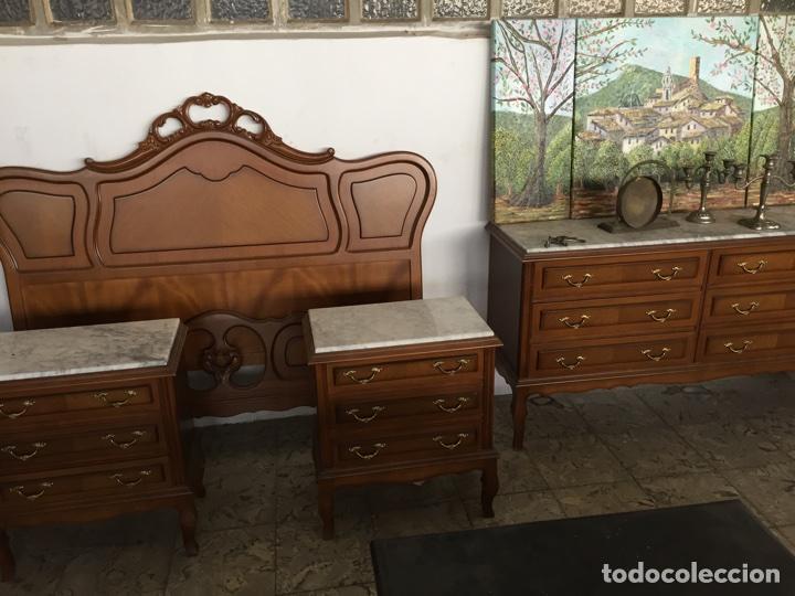 Conjunto de muebles para dormitorio de matrimon vendido for Muebles dormitorio vintage