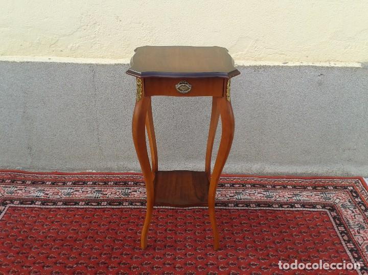 Columna o pedestal estilo luis xv mesa auxiliar comprar muebles vintage en todocoleccion - Muebles estilo antiguo ...