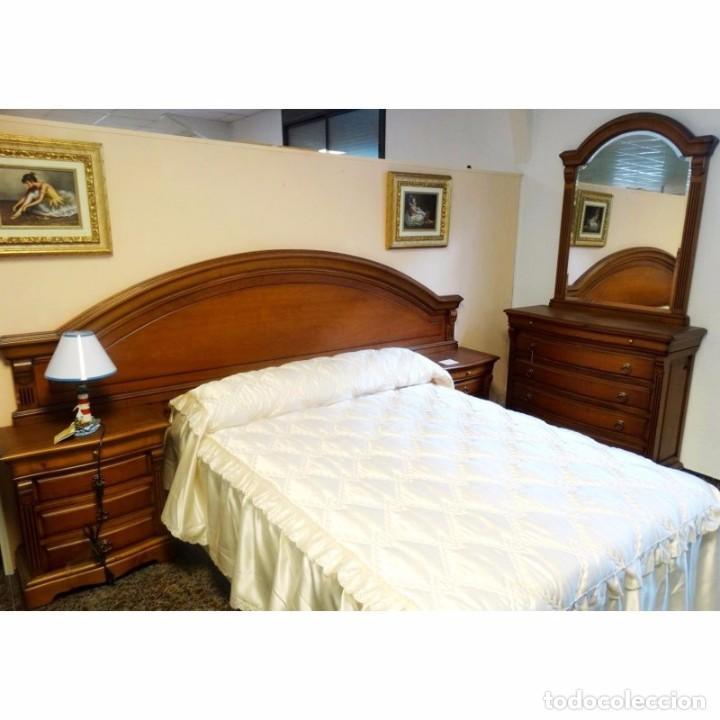 Dormitorio cerezo cabecero corrido 150 o 135 comprar for Muebles dormitorio vintage