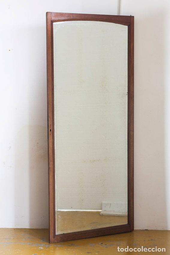 Espejo con bisel de antigua puerta marco de ma comprar for Espejo para puerta