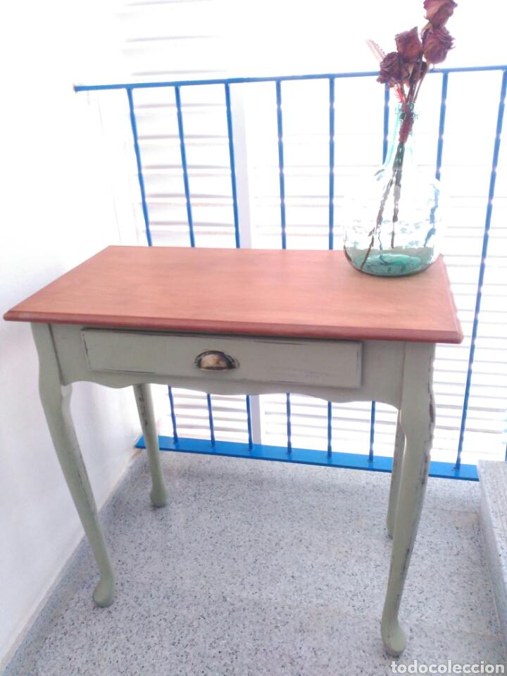 Mesa auxiliar antigua consola antigua recibid comprar for Consolas antiguas muebles
