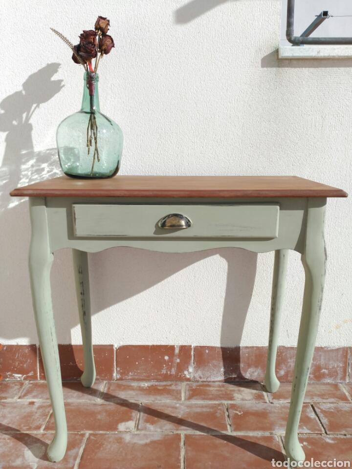 mesa auxiliar antigua , consola antigua recibi - Comprar Muebles ...