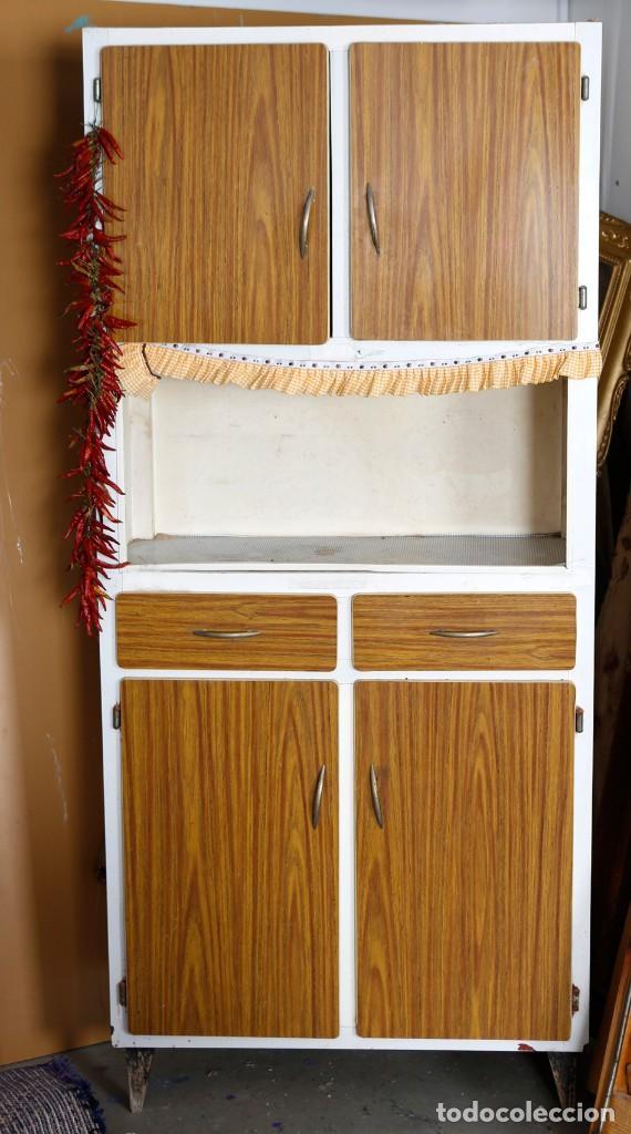 armario de cocina años 60 / 70 - Comprar Muebles vintage en ...