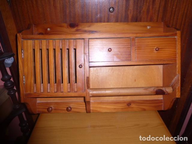 Mueble de colgar para cocina con porta rollos comprar - Rollos adhesivos para muebles ...