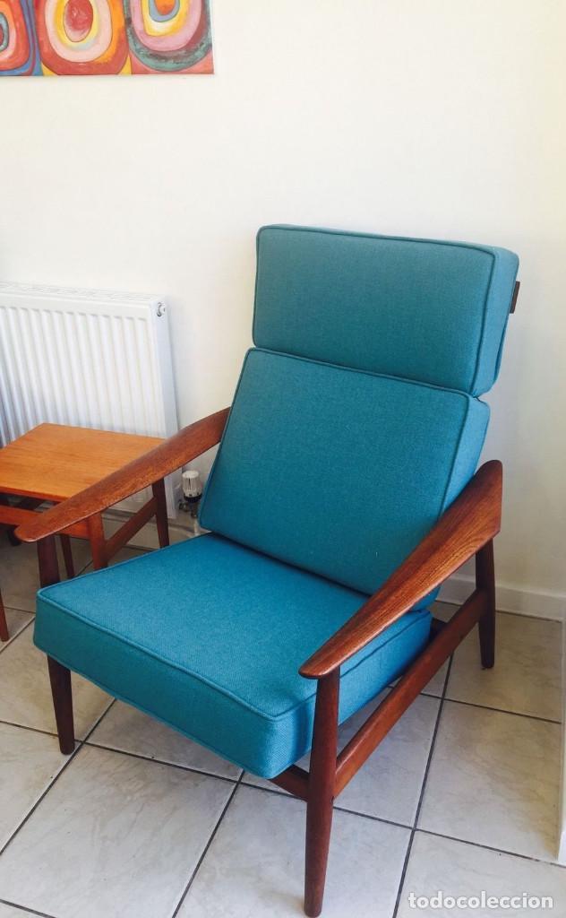 Pareja de sillones modelo fd164 by arne vodder comprar muebles vintage en todocoleccion 76588775 - Sillones antiguos restaurados ...