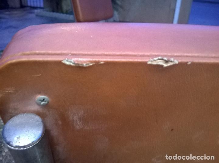 Vintage: BUTACAS AÑOS 70 - ESTILO MID CENTURY-ACERO CROMADO-RECOGIDA LOCAL O CARGO DEL COMPRADOR - Foto 9 - 77439537