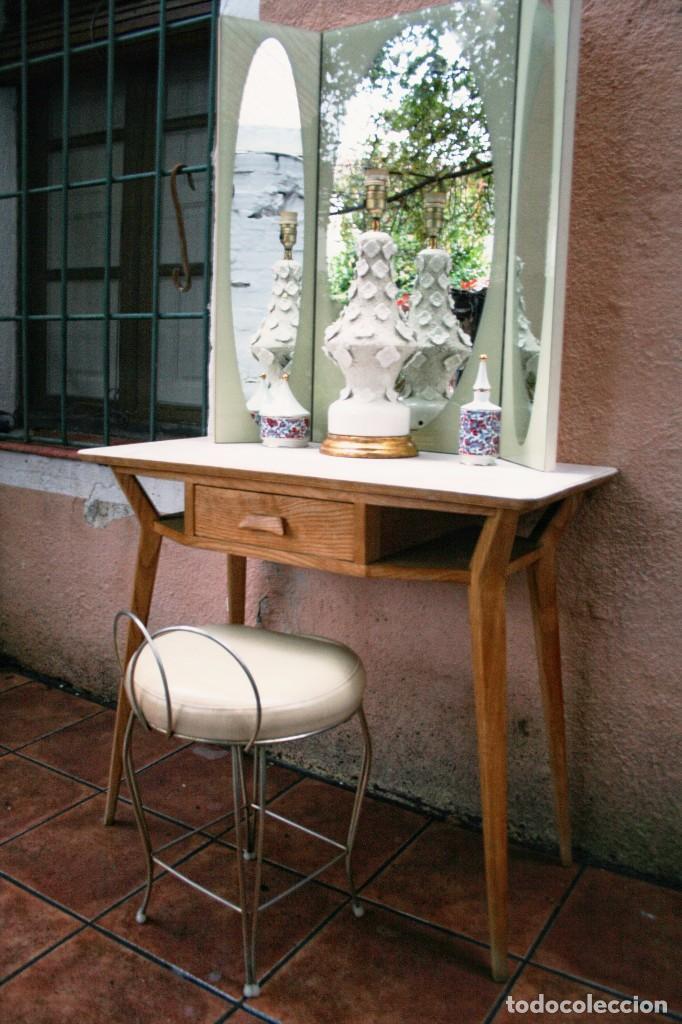 Mesa escritorio tocador a os 50 dise o nordico comprar - Muebles diseno nordico ...