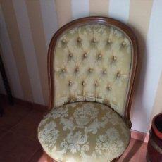 Vintage: SILLA DESCALZADORA AÑOS 70. Lote 60806747