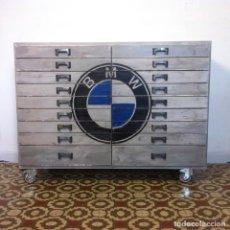 Vintage: CAJONERA INDUSTRIAL BMW. Lote 80262545