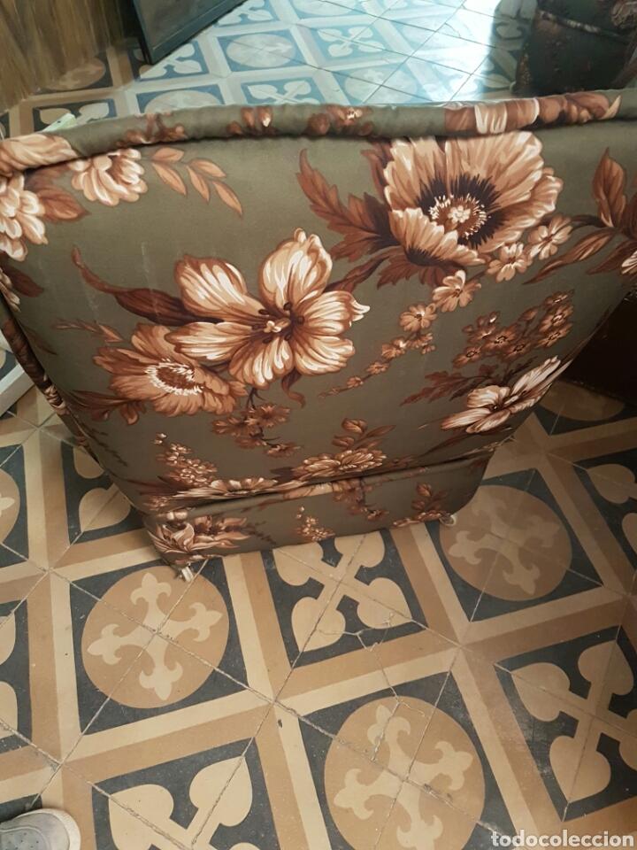 Vintage: Pareja de sillones bajos con ruedas - Foto 2 - 80533493
