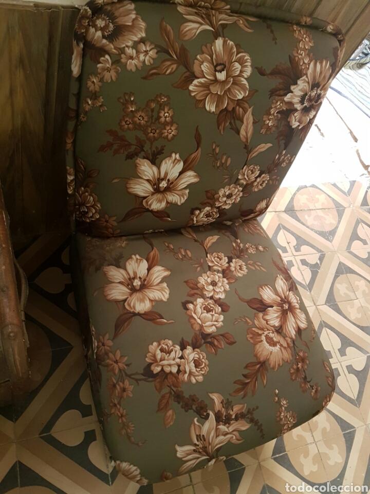 Vintage: Pareja de sillones bajos con ruedas - Foto 3 - 80533493