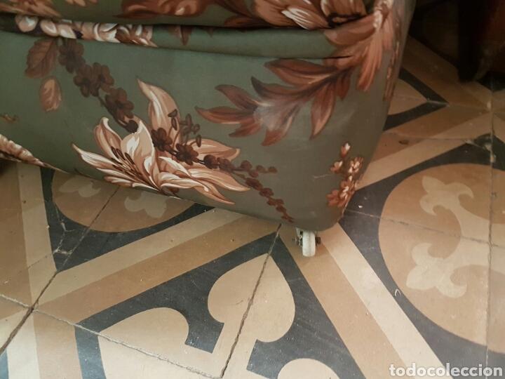 Vintage: Pareja de sillones bajos con ruedas - Foto 4 - 80533493