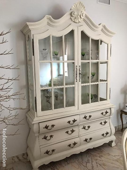 comedor clásico renovado blanco de lujo - Kaufen Vintage ...