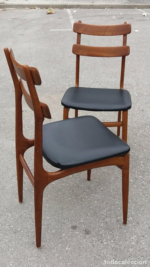 Silla vintage a os 60 mueble dan s mid century comprar - Sillas anos 60 ...