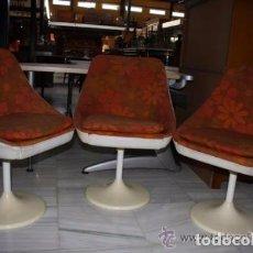 Vintage: 3 SILLAS AÑOS 70. REF. 5929. Lote 67521869