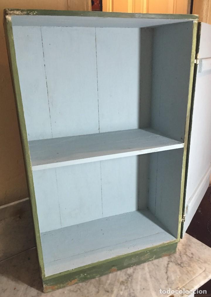 pequeño mueble para cocina o baño en verde - Kaufen Vintage-Möbel in ...