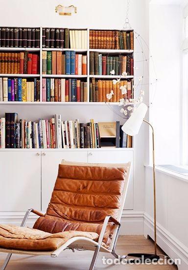 Vintage: Sillón sueco de piel vintage Silla Butaca de cuero Mecedora diseño escandinavo Lounge Chair - Foto 24 - 82102196