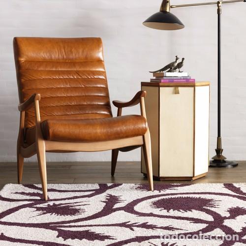 Vintage: Sillón sueco de piel vintage Silla Butaca de cuero Mecedora diseño escandinavo Lounge Chair - Foto 25 - 82102196