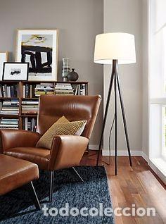 Vintage: Sillón sueco de piel vintage Silla Butaca de cuero Mecedora diseño escandinavo Lounge Chair - Foto 27 - 82102196
