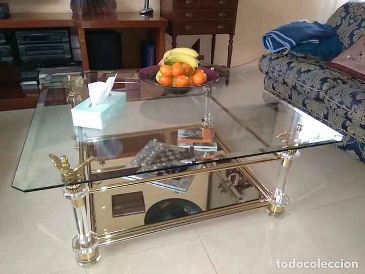 2ecdcf03c46 mesa centro salon en cristal - Kaufen Vintage-Möbel in todocoleccion ...