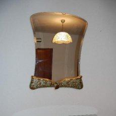 Vintage: RECIBIDOR CONJUNTO DE CONSOLA Y ESPEJO ART DECO. Lote 83451792