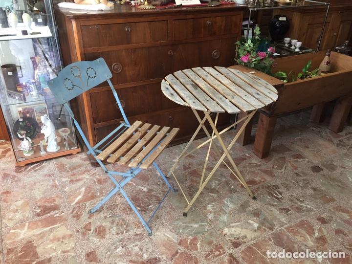 silla mesa plegables jardín terraza - Comprar Muebles vintage en ...