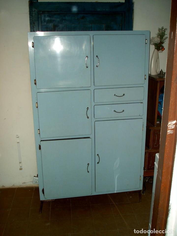 Antigua alacena vintage de cocina fresquera comprar - Muebles online vintage ...