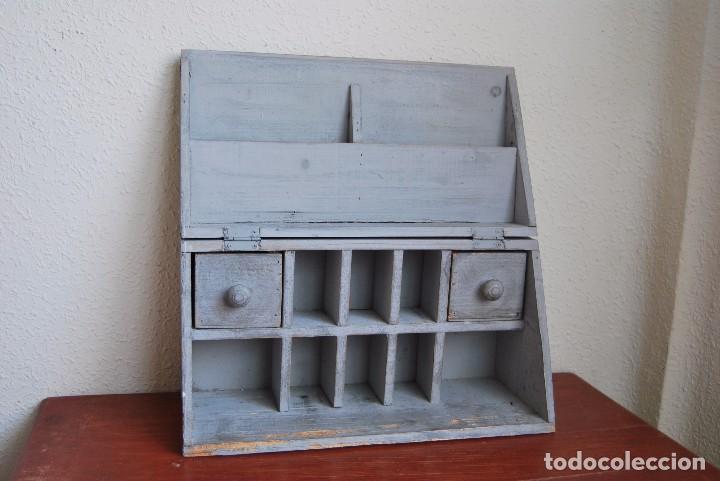 Peque o mueble de madera escritorio archiva comprar - Escritorio vintage segunda mano ...