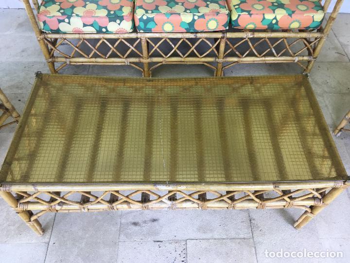 Sofa mimbre sofa de mimbre para jardin terraza cc jardn for Sofa mimbre terraza
