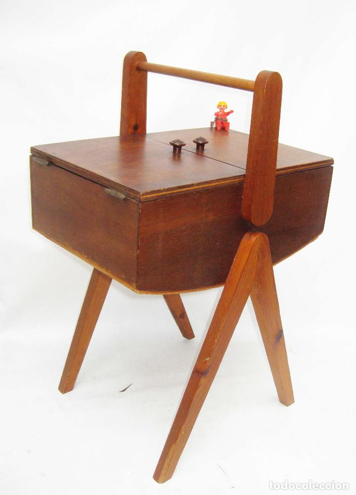 Precioso mueble vintage costurero de costura an comprar for Mueble costurero