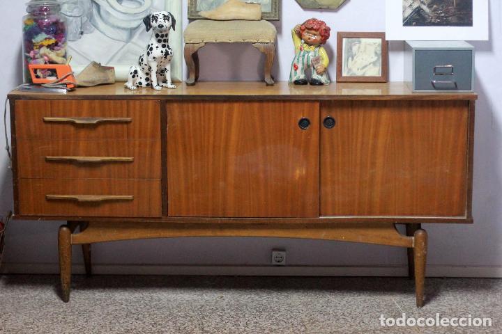 Aparador vintage dise o ingl s 180cm comprar muebles - Muebles online vintage ...