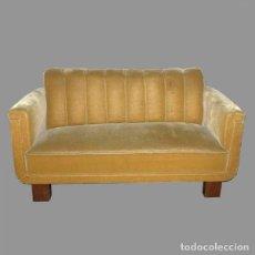 Vintage: SOFÁ ART DECO CON DOS SILLONES 1930 - 1935 (BRD). Lote 86957416