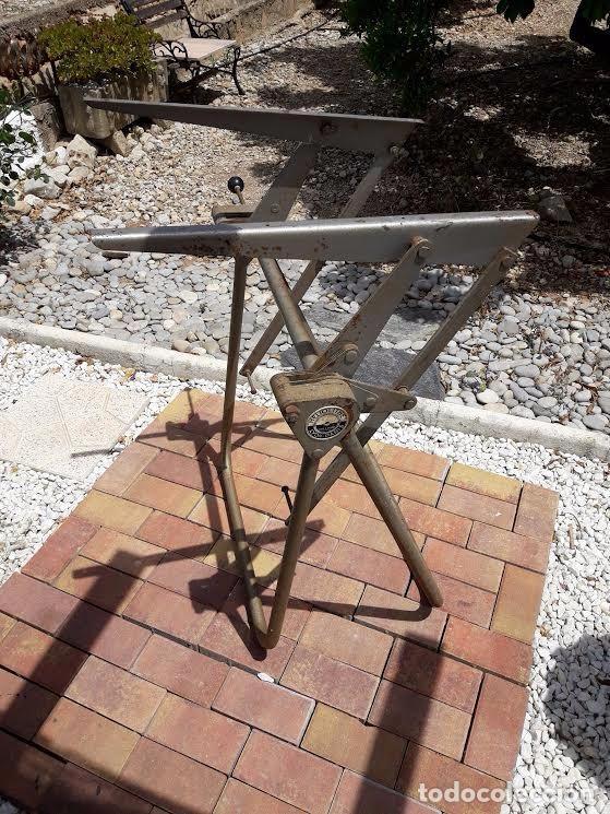 Mesa de dibujo arquitecto industrial table d comprar muebles vintage en todocoleccion 89383868 - Mesas de arquitecto ...