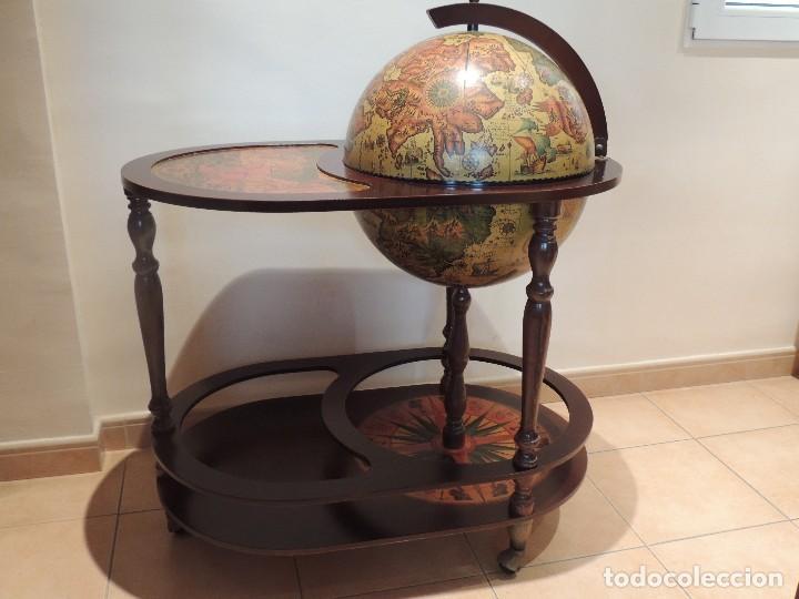 mesa bar globo terraqueo - Comprar Muebles vintage en todocoleccion ...