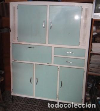 antigua alacena, chinero de cocina, madera y fo - Comprar Muebles ...