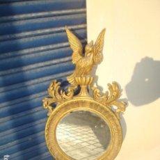 Vintage: PRECIOSO ESPEJO IMPERIAL TALLADO. Lote 87549748