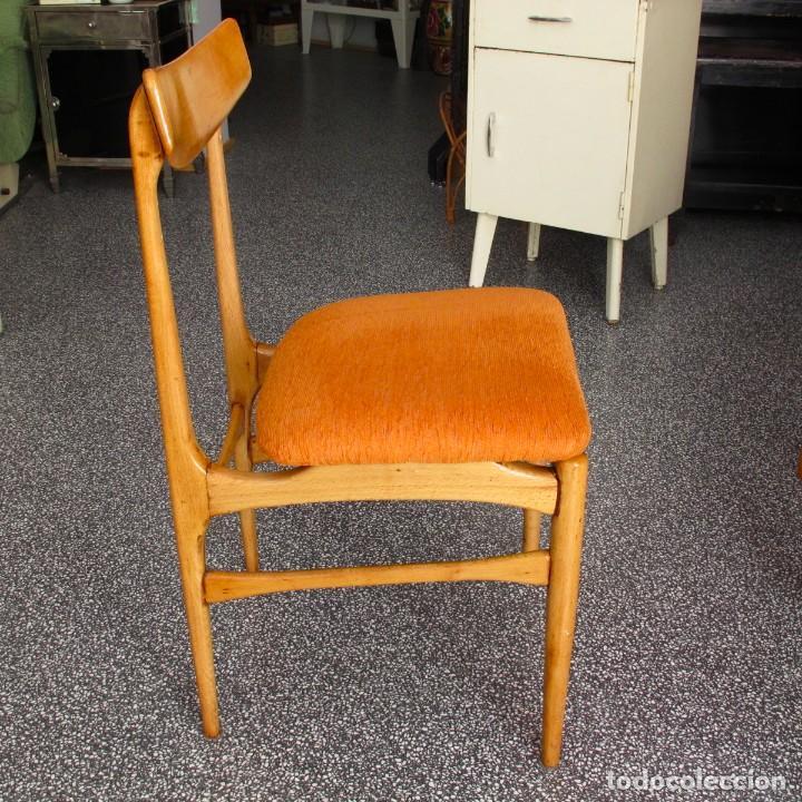 Silla sillas nordica escandinava vintage antigu comprar for Silla nordica madera