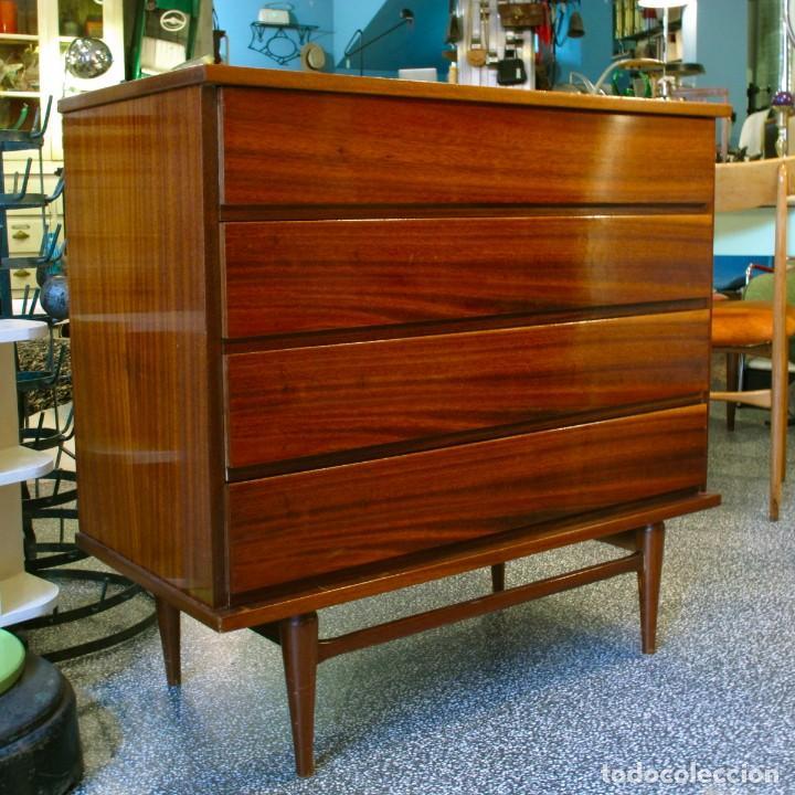 C moda n rdica cajonera mueble madera nordico e comprar for Muebles nordicos online