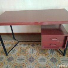 Vintage: DESPACHO ESCRITORIO DE FORMICA Y ESTRUCTURA METALICA. Lote 91437270