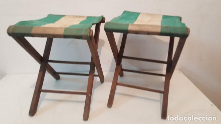 Dos sillas plegables a os 60 comprar muebles vintage en - Sillas anos 60 ...