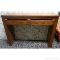 Vintage: CONSOLA FRESNO CEREZO ROMBO 110 X 31 X 81. Lote 91786145