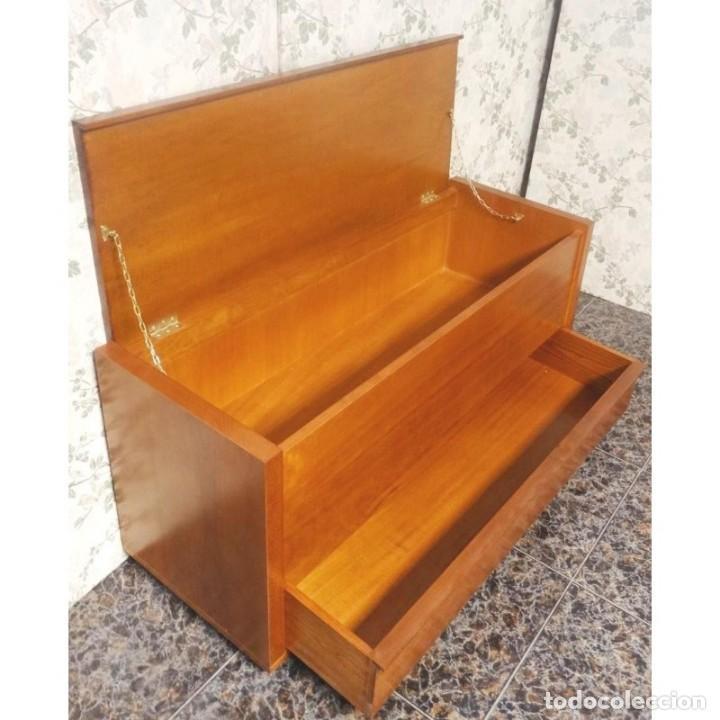 Zapatero baul cerezo cajon 110 x 40 x 50 comprar muebles for Zapatero color cerezo