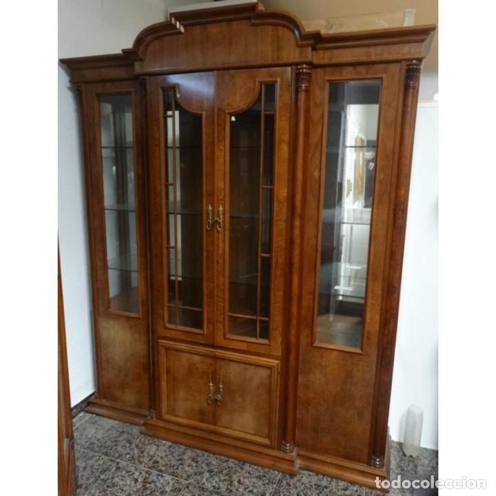 VITRINA RAIZ VELADA MEDIDAS 180 X 50 X 220 (Vintage - Muebles)